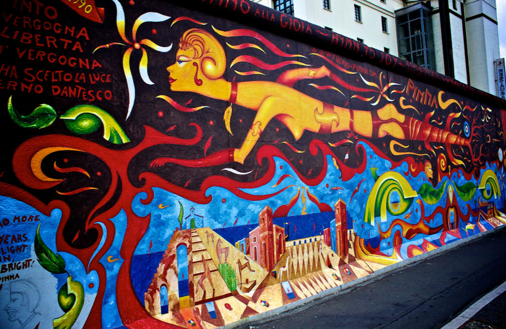 Fresque de l'East Side Gallery